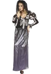 Disfraz Novia Esqueleto Mujer Talla L