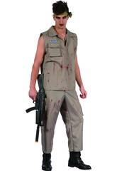 Disfraz Soldado Cruento Hombre Talla XL