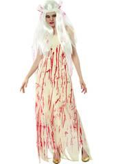 Kostüm Tote Braut Frau Größe XL