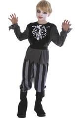 Déguisement Pirate Squelette Garçon Taille XL