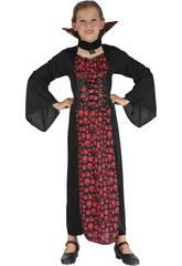 Disfraz Vampiresa Niña Talla S