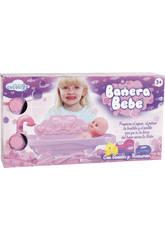 Bañera Bebé Con Sonidos 12x46x24cm