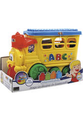 Locomotive avec Blocs de Construction