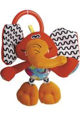 Peluche Baby crabe Hochet Actividés Éléphant