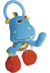 Peluche Baby Sonajero Actividades Hipopotamo