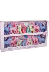 Famiglia Pony 16 pezzi con Accessori