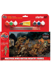 WWII Infantería Británica
