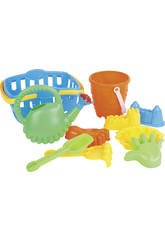 Set with Beach Accessories 9 Pieces