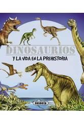 Libro Dinosaurios Y Vida Prehistórica Susaeta S0093