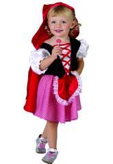 Maschera Cappuccetto Rosso per Bebè Taglia S