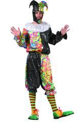 Disfraz Bufon Hombre Talla L