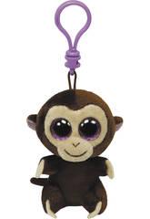 Peluche portachiavi Scimmietta Marrone 10 cm