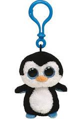 Peluche Portachiavi Waddles Pinguino 10 cm