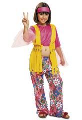 Disfraz Niña M Hippie