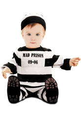 Déguisement Bébé M Prisonnier