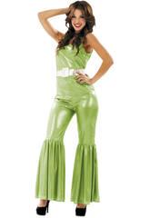Maschera Donna S Disco Verde