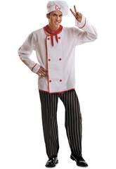 Disfraz Hombre S Cocinero con Sombrero