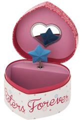 Joyero Musical Corazón Frozen