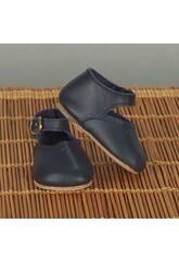 Zapato Merceditas Azul Marino