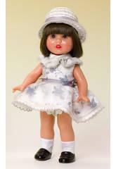 Mini Mariquita Pérez Vestido Estampado Gris