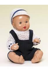 Mini Juanin Bebé Fato Azul Marinho