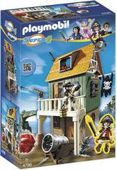 Playmobil Super 4 Fuerte Pirata Camuflado Ruby