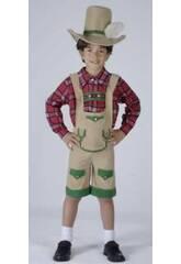 Kostüm Junge aus den Alpen Junge Größe S