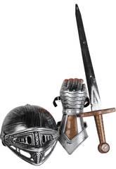 Set Chevalier avec Épée, Casque et Gantelet