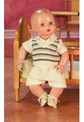 Juanin Pérez Baby Set gestreifte Weste