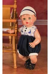 Juanin Pérez Baby Baby Strampelanzug mit Mütze