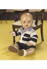 Juanin Pérez Baby Kleidung Blaue Hose und Gestreifte Jacke