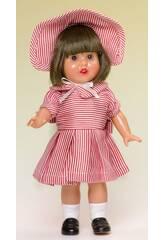 Mini Marienkäfer Perez Kleid Streifen weiß und rot