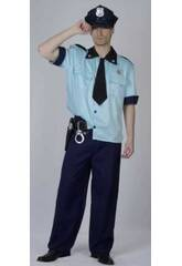 Déguisement Policier Homme Taille XL