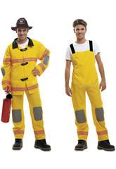 Disfraz Hombre S Bombero Amarillo