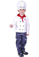 Fantasia Cozinheiro Bebé Tamanho M