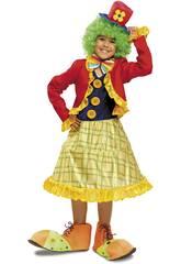 Déguisement Fille M Clown Couleurs