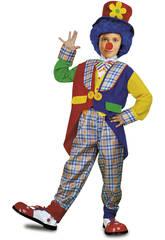 Déguisement Enfant S Clown Manteau