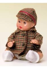 Mini Juanin Bebé Abrigo Pata de Gallo