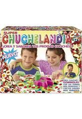 Educa Borras - Super Chuchelandia, Kit per la creazione di caramelle gommose
