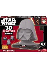 Puzzle 3D Sculpture Darth Vader Educa 16500