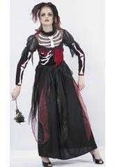 Disfraz Novia Esqueleto Mujer Talla XL