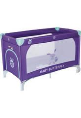 Cuna De Viaje Baby Butterfly