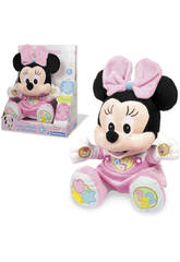 Peluche éducative Baby Minnie