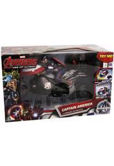 Avengers U-Command Motorcycle Capitan America