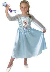 Kostüm Mädchen Elsa Classic mit Mikro T-M Rubies 620284-M