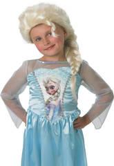 Peluca Frozen Elsa Rubies 52865