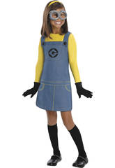 Costume bimba Minions T-S