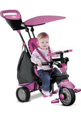 Tricycle Smart Trike Glow 4 en 1 Rose
