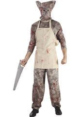 Disfraz Carnicero Sangriento Hombre Talla XL