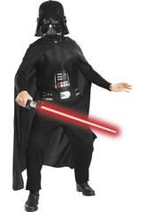 Disfraz Niño Darth Vader con Espada T-L